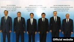 'Merkezi Aziýa+Ýaponiýa' dialogyna gatnaşan ýurtlaryň daşary işler ministrleri.