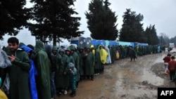 پناهجویان در یونان، عکس از آرشیو