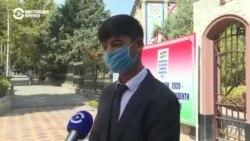 В Таджикистане у студентов берут расписки об обязательном ношении масок в вузах