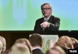 Президент Єврокомісії Жан-Клод Юнкер у Києві, квітень 2015 року