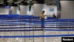Turistkinja na dubrovačkoj zračnoj luci, 29. srpnja