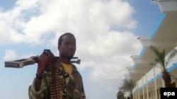 آمریکا می گوید که به مقر اسلام گرایانی که با القاعده در سومالی همکاری می کنند حمله کرده است. (عکس: EPA)