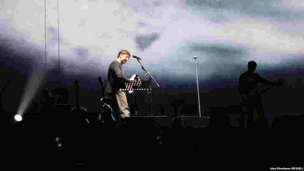 Репетиция перед началом концерта
