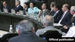 Заседание правительства Армении (архивная фотография)
