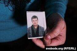 Фота Сяргея Абрамовіча, якога 29 лістапада знайшлі мёртвым у міліцэйскай машыне