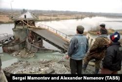 Зламаний міст між Абхазією та Грузією, 1994 рік
