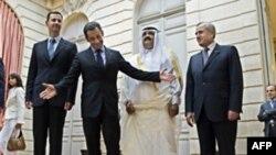 روابط ديپلماتيک ميان لبنان و سوريه پس از ترور رفيق حريری، نخست وزير سابق لبنان به حال تعليق در آمد.(عکس: AFP)