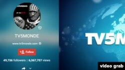 """Чабуулдан улам """"TV5Monde"""" башкарган 11-канал обого чыкпай калды"""