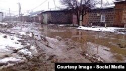 Տեսարան Գյումրիի անբարեկարգ փողոցներից, արխիվ
