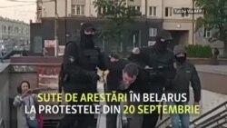 Forțele de securitate din Belarus continuă să aresteze protestatarii anti-Lukașenko
