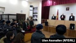 Оглашение приговора Аскарову. 24 января 2017 года