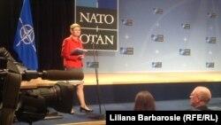 Пресс-секретарь НАТО Оана Лунгеску