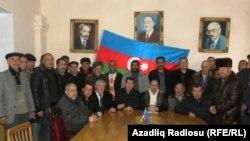 Политические активисты в Нахчыване, Азербайджан. Архивно-иллюстративное фото