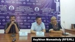 Алматыдагы басма сөз жыйын. 12-сентябрь, 2017-жыл.