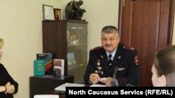 Пресс-конференция нового руководителя ГИБДД Северной Осетии Айвара Хуадонова