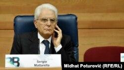 Președintele italian Sergio Matarella