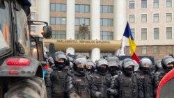 """Protestul fermierilor la Parlament: """"A ajuns cuțitul la os"""""""