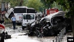 عکس مربوط به انفجار استانبول