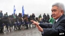 Феликс Кулов, лидер кыргызской партии «Ар-Намыс».