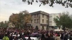 تجمع اعتراضی به برنامه فیتیله در تبریز