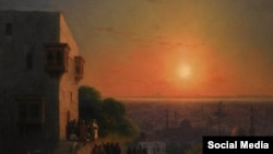 Russian-Armenian artist Ivan Aivazovsky's Evening In Cairo
