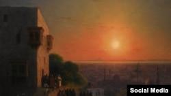 «Вечір у Каїрі» Айвазовського