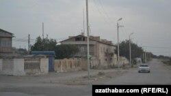 Село в Балканском велаяте Туркменистана (архивное фото)
