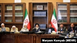 A session of Iran's Expediency Discernment Council, on March 10, 2018.
