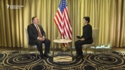 Pompeo Talks Central Asia, China, Press Freedom In RFE/RL Interview