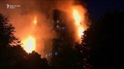 Incendiu de proporții la Grenfell Tower, Londra