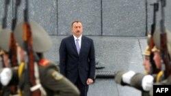 Президент Азербайджана Ильхам Алиев в Минске, 29 августа 2012
