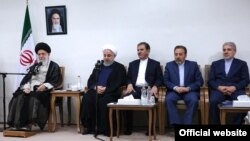 دیدار اعضای دولت ایران با رهبر جمهوری اسلامی در روز چهارشنبه، ۳۰ مرداد ۹۸
