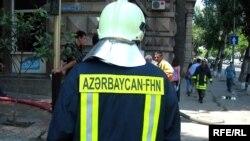Hacı Zeynalabdin Tağıyev qəsəbəsində yerləşən «N» saylı hərbi hissəsinin yaxınlığında yanğın baş verib