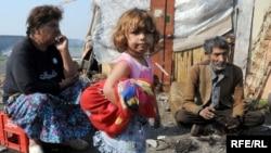 В одному з ромських таборів біля Подгориці, архівне фото
