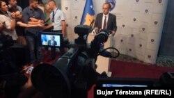 Shefi i Grupit Parlamentar të LDK-së, Avdullah Hoti