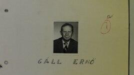 Imagine a lui Gáll Ernö din arhivele CNSAS (Foto: ACNSAS)