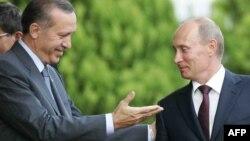 R.T.Ərdoğan və V.Putin - 2009