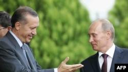 ولادیمیر پوتین و رجب طیب اردوغان