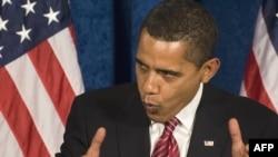 Президент Обама Вашингтон сиëсатчиларини¸ ҳозир анъанавий республикачи-демократ ўйинини ўйнаш мавриди эмаслиги ҳақида қатъият билан огоҳлантириб келмоқда.