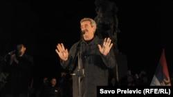 Na anti-NATO skupu govorio i Momir Bulatović