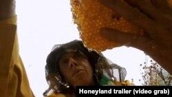 Сцена од филмот Медена земја