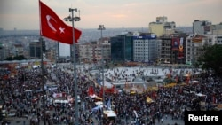 Some have likened antigovernment protests in Turkey to the Occupy Wall Street movement in the United States.