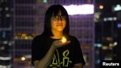 Chow Hang Tung, una dintre organizatoarele priveghiului din Hong Kong, a fost arestată.