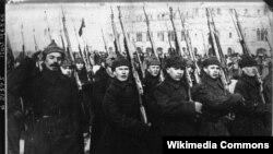 Парад Чырвонай Арміі ў Маскве, 1922 год