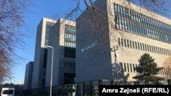 Pamje nga selia e EUROPOL-it në Holandë.