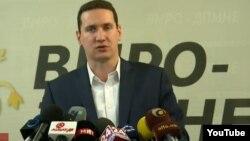 Прес конференција на Влатко Ѓорчев од Изборен штаб на ВМРО ДПМНЕ