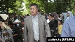 Бектур Асанов, лидер партии «Эгемен Кыргызстан».