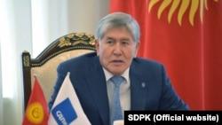 Former Kyrgyz President Almazbek Atambaev