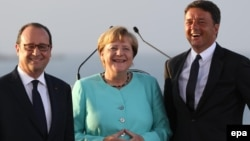 Hollande, Merkel & Renzi