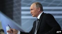 Путиндин эл менен теле баарлашуусу.